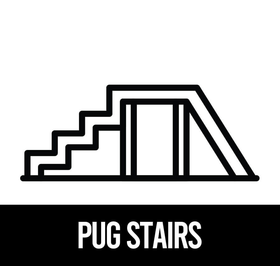 best pet stairs for pugs