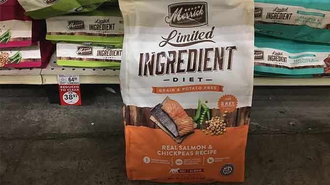 Merrick dog food ingredients