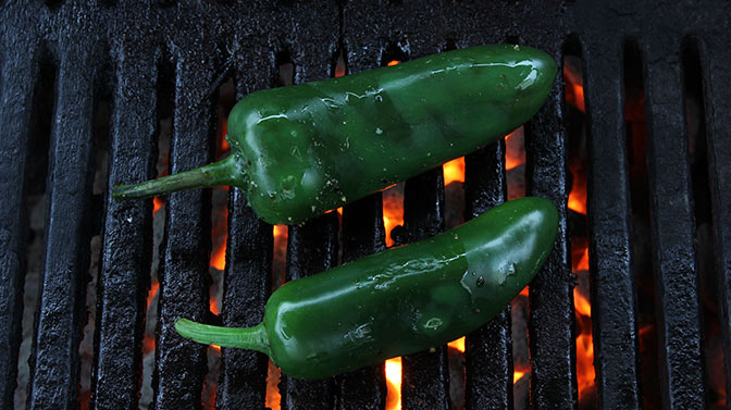 cooked jalapeno peppers