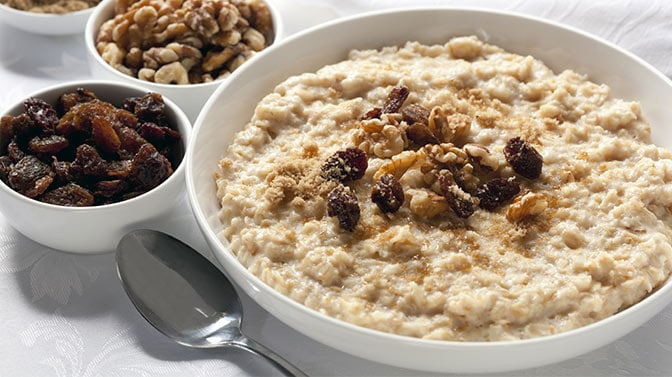 oatmeal with brown sugar