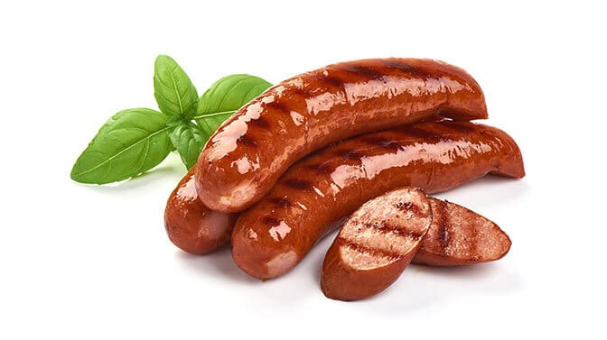 can dogs eat hot dog sausages