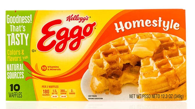 can dogs eat Eggo waffles